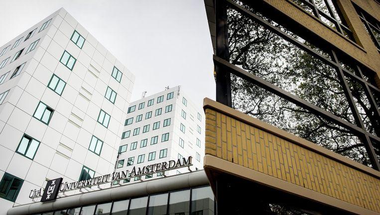 De Universiteit van Amsterdam intensiveert de begeleiding van vluchtelingen Beeld anp