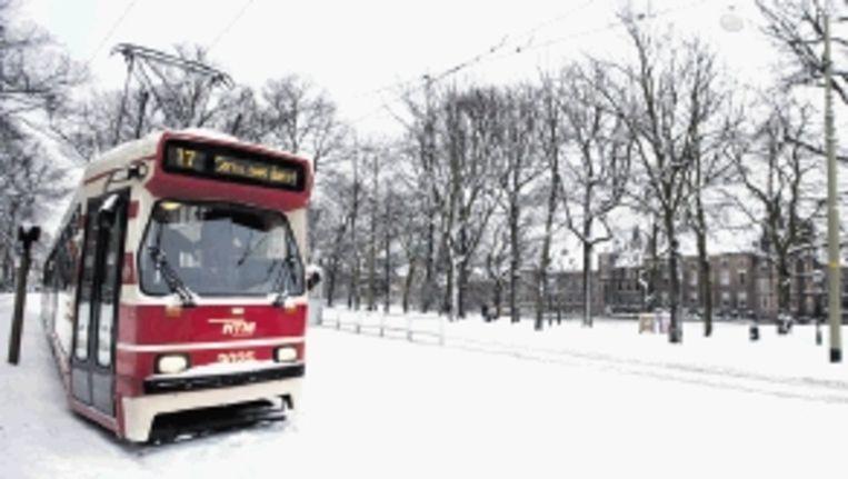 Ga goed voorbereid op reis. Trams hebben toch ook geen toilet? (FOTO ANP) Beeld