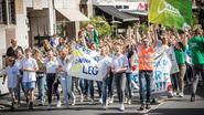 Scholenprotest flakkert opnieuw op