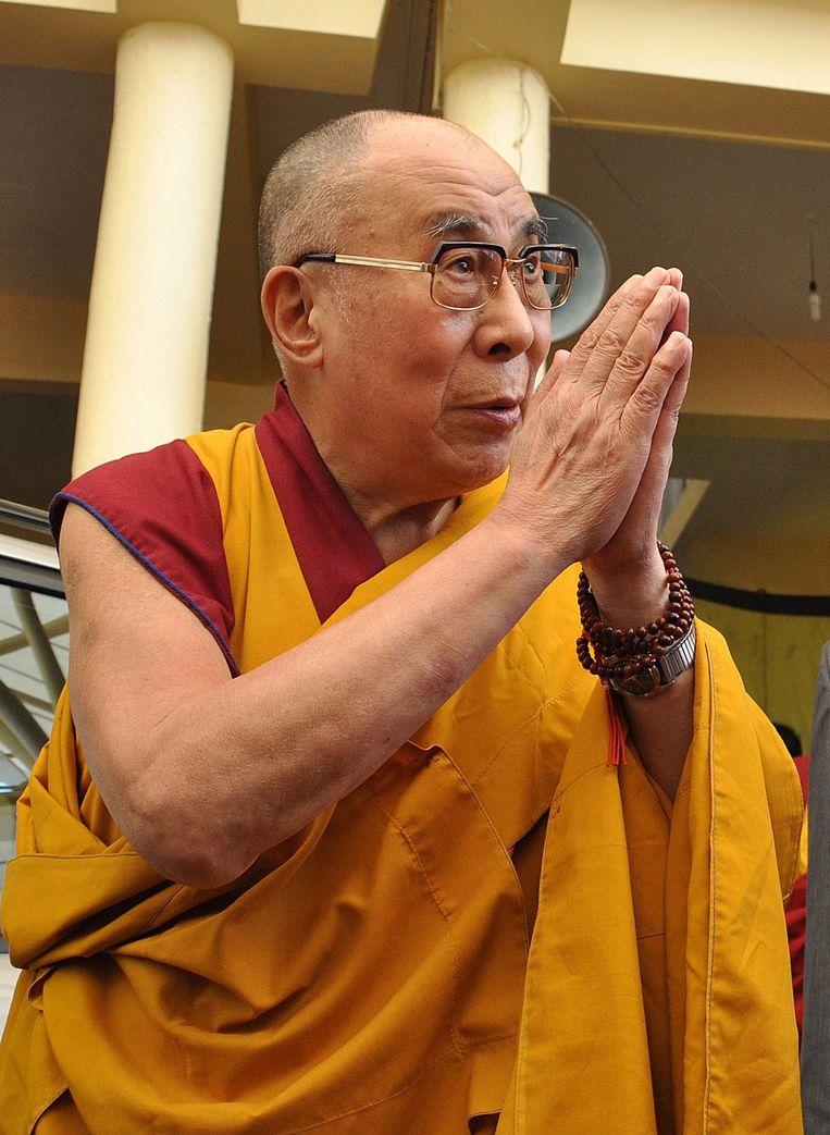 De dalai lama. Beeld epa