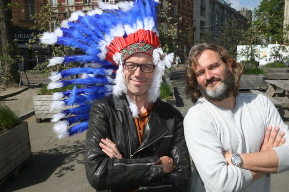 Buffalo Kurt Burgelman en Filip Watteeuw.