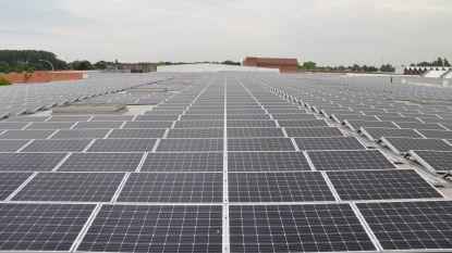 """7.200 zonnepanelen op het dak van Ontex: """"Voorbeeld voor andere bedrijven"""""""