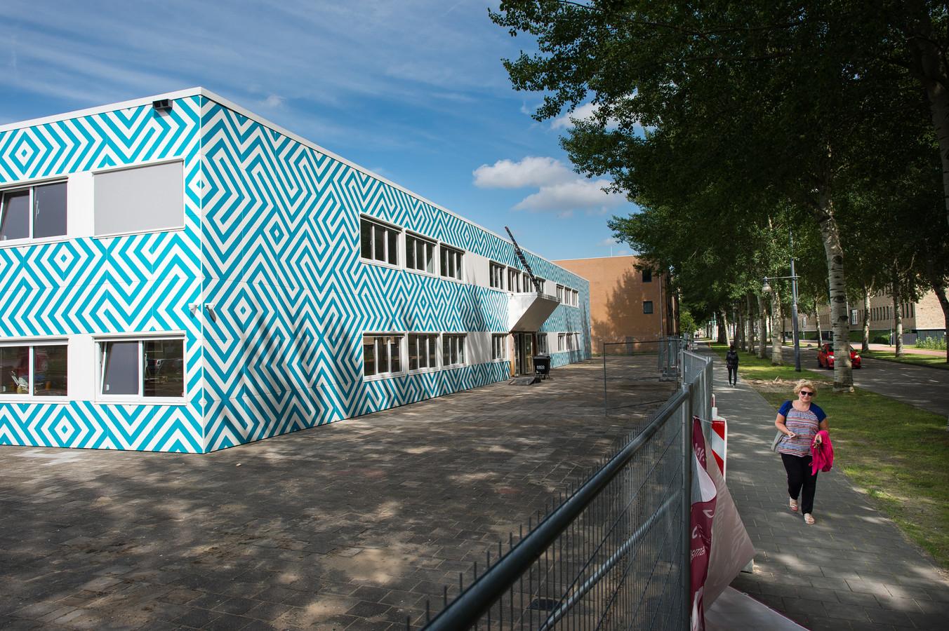 De islamitische middelbare school Cornelius Haga Lyceum aan de Naritaweg