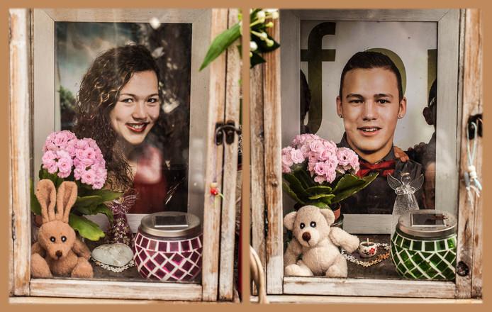 Frederique (19) en Robert-Jan (18) van Zijtveld, slachtoffers van de ramp met MH17
