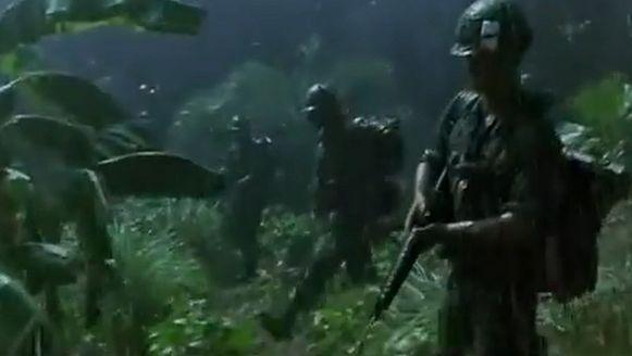 Een Vietnamscène uit 'Forrest Gump'.