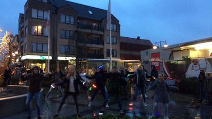 Flashmob voor fietsverlichting