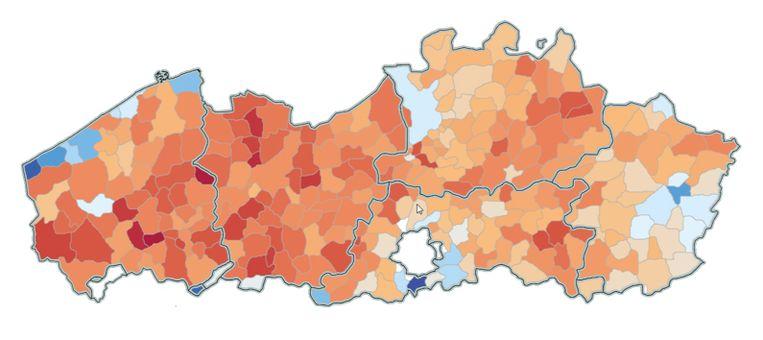 'Blokken' is erg populair in Oost- en West-Vlaanderen, maar de grootste fans van Ben Crabbé wonen vlak bij zijn geboorteplaats Tienen in Kortenaken.