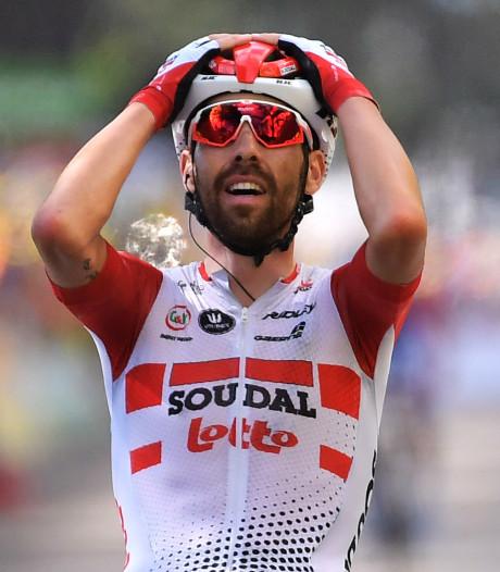 Nouvelle victoire belge sur le Tour, De Gendt s'impose en solo à Saint-Étienne