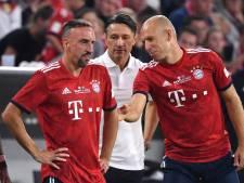 Einde van een tijdperk: na Robben stopt ook Ribéry bij Bayern