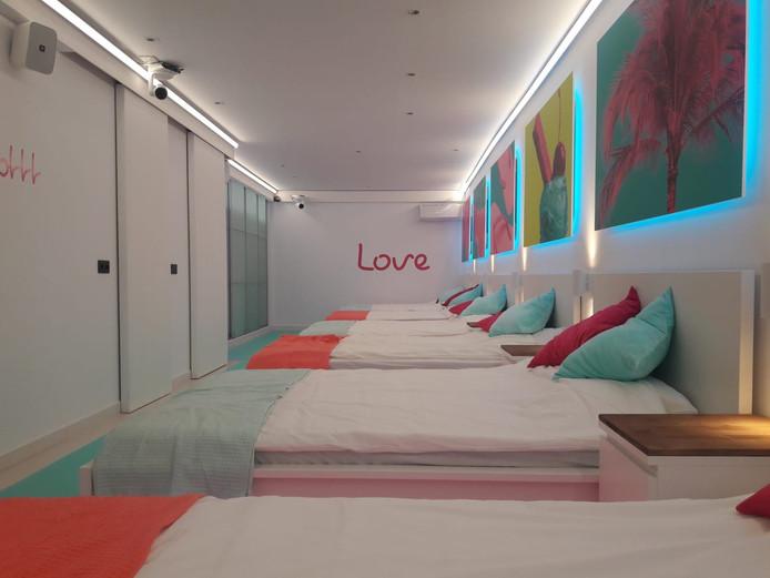 Weinig privacy in de slaapkamers
