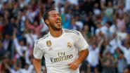 Een stadionbrede lach: Hazard scoort (prachtig) voor Real