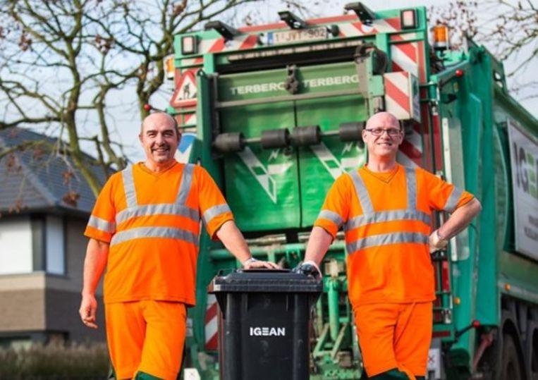 Deze vriendelijke vuilnismannen en hun collega's zullen deze zomer het huisvuil dubbel zo vaak ophalen.