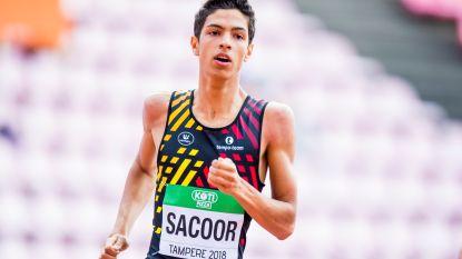 Jonathan Sacoor opent seizoen met beste Europese jaarprestatie op 400 meter