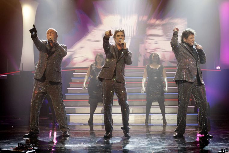 De Toppers treden zondag op tijdens het Nationaal Songfestival 2009. Foto ANP/Rick Nederstigt Beeld