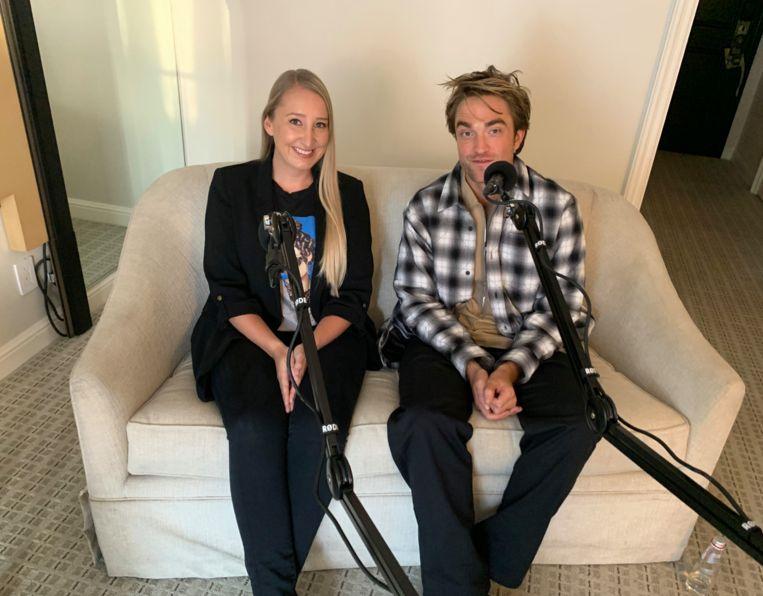 Onze vrouw in Hollywood interviewde Robert Pattinson.