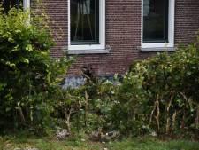 Auto komt tot stilstand tegen huis in Woerden