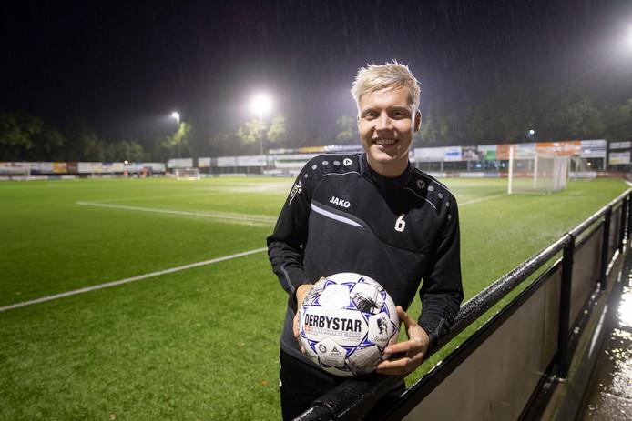 SVZW-speler Robin de Jong.