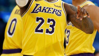 James pakt uit met eerste 'triple-double' voor Lakers, is trein nu vertrokken?