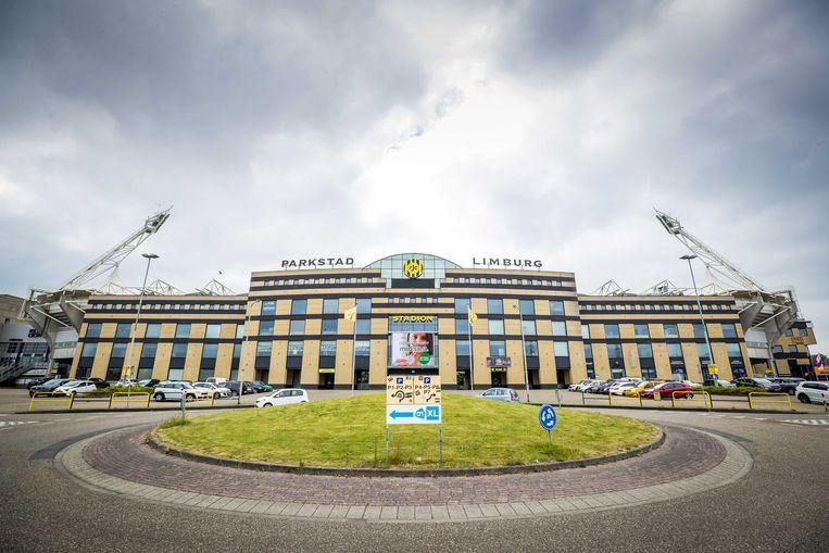 2020-05-20 10:44:36 KERKRADE - Exterieur van het Parkstad Limburg Stadion van Roda JC. ANP MARCEL VAN HOORN Beeld ANP