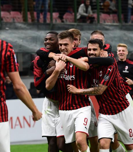 AC Milan geeft zege uit handen bij debuut Pioli