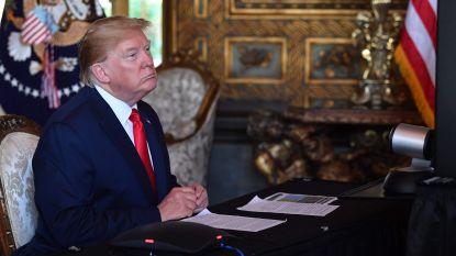 """Trump is klaar voor ontvangst van Noord-Koreaans """"kerstgeschenk"""": """"Misschien is het een mooie vaas"""""""
