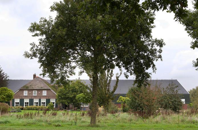 Op dit terrein wilde Adriaan Straathof een megastal bouwen voor 11.000 varkens.