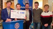 Rotary Club Brakel-Zwalmvallei schenkt 3.000 euro aan Rode Kruis Brakel