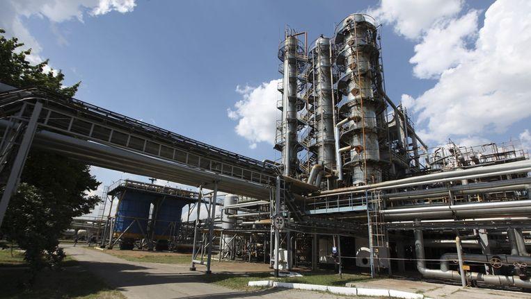 Er dreigt een tekort aan brandstoffen in Oekraïne, omdat het Russische Gazprom de gastoevoer naar het land heeft stopgezet. Dit heeft negatieve gevolgen op de economie. Beeld epa