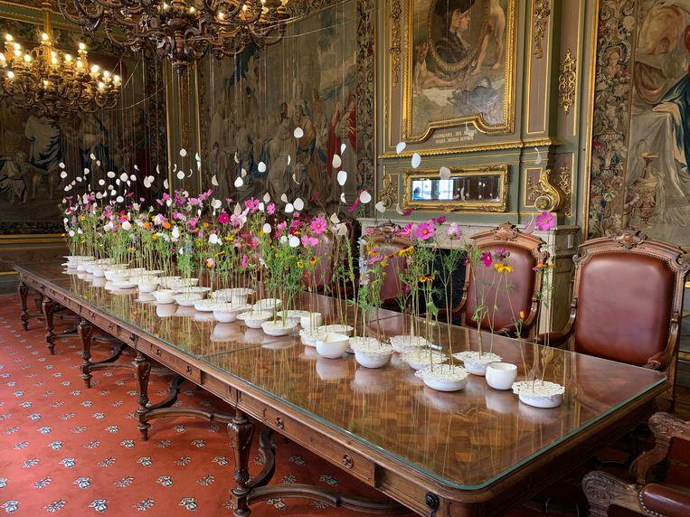 Flowertime in het stadhuis van Brussel gaat nog door tot zondag 18 augustus