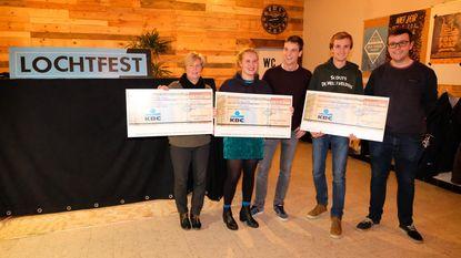Drie verenigingen krijgen elk 500 euro