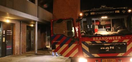 Brand in Edes trappenhuis is aangestoken