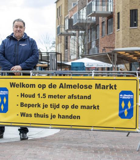 Markt in Almelo uitgekleed: 'Dit is onbegrijpelijk'