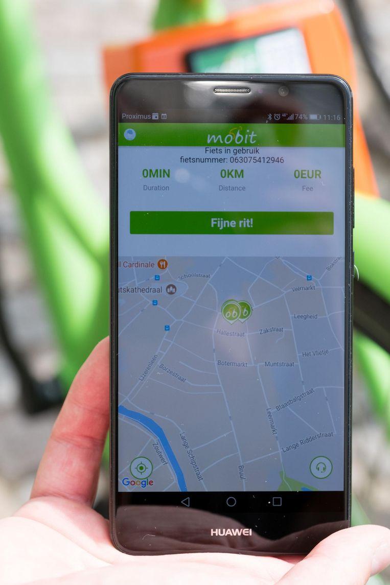 Via gps-tracking vind je de fietsen terug.