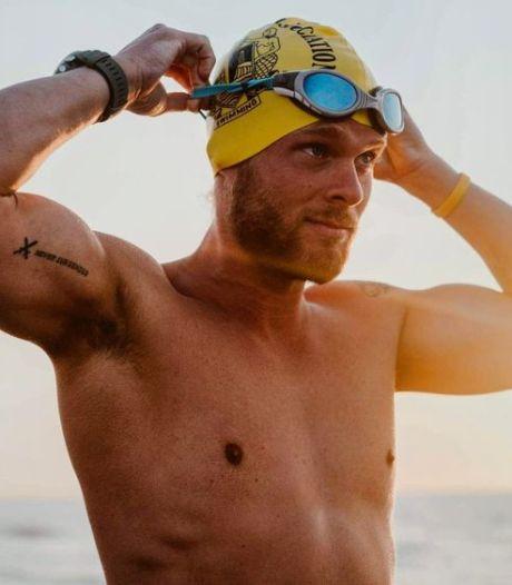 Matthieu Bonne n'a pas réussi à nager en solo tout le littoral belge