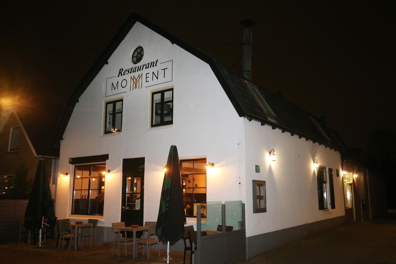 Restaurant Moment op de Zandweg in De Meern