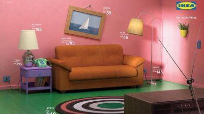 Ikea brengt woonkamers uit hitseries tot leven: van Friends tot The Simpsons
