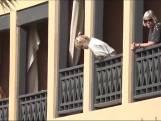 Eerste beelden van wegens coronavirus afgegrendeld hotel in Tenerife