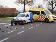 Automobiliste gewond bij botsing in Groenlo