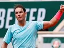 Nadal staat slechts vier games af in tweede ronde Roland Garros
