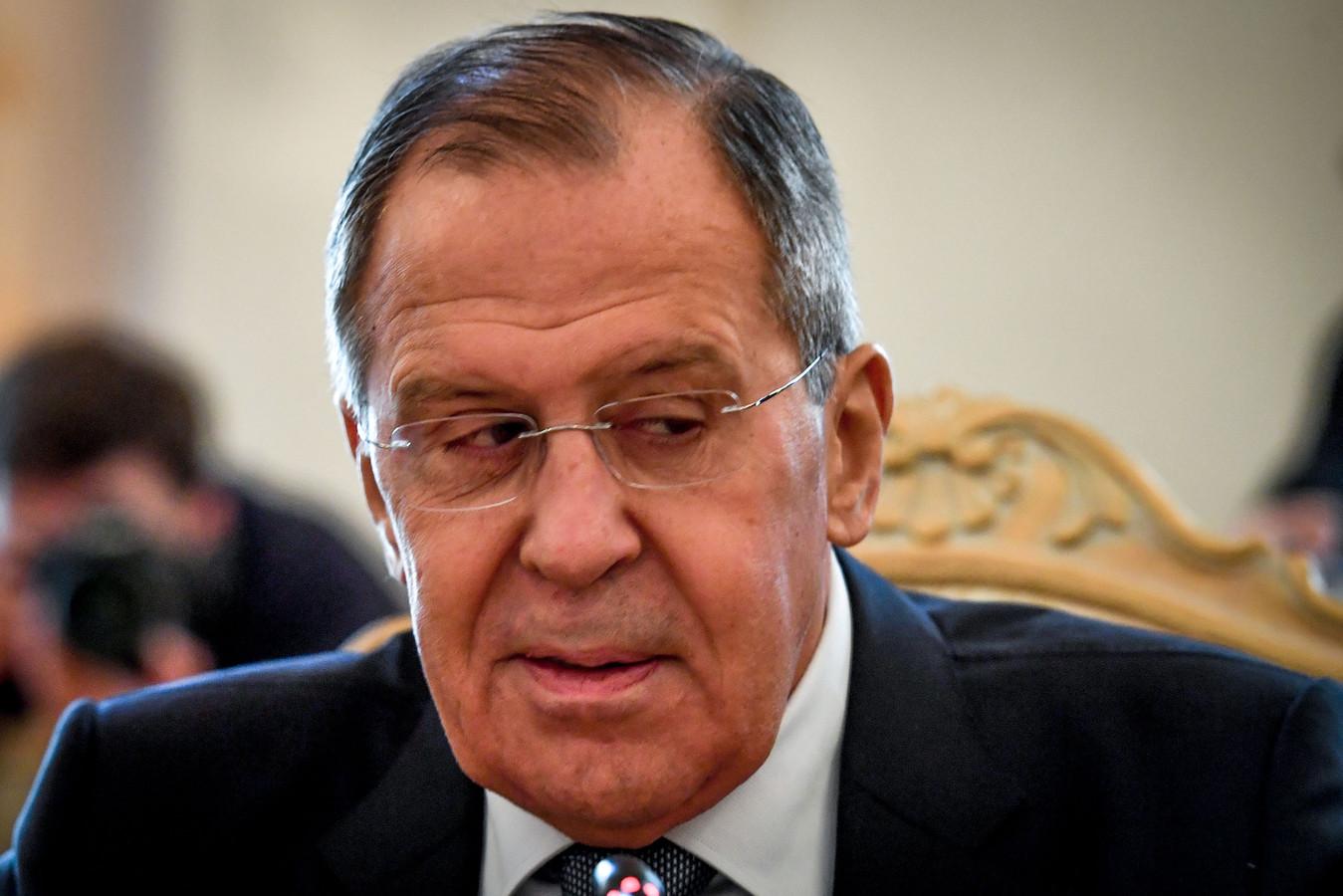 Volgens Sergej Lavrov is Skripal vergiftigd met een stof die niet in Rusland gemaakt is.
