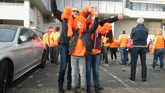Patricia en Marri met hun kids Sanne en Bas uit Sprang-Capelle.