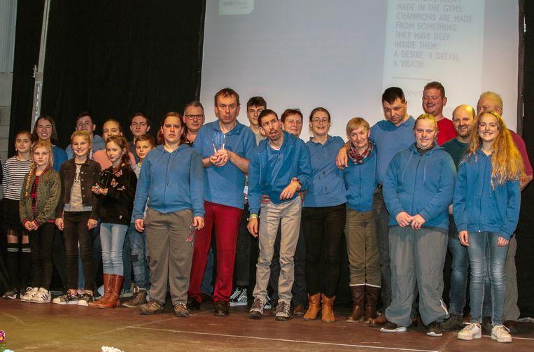 De Laakdalse sportlaureaten 2018.