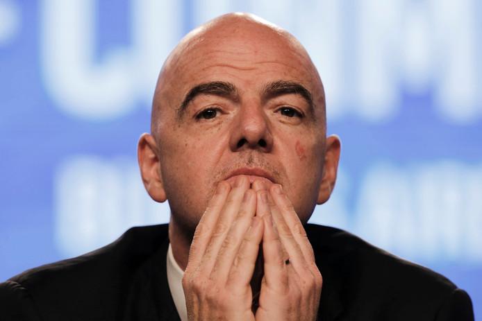FIFA-baas Gianni Infantino.