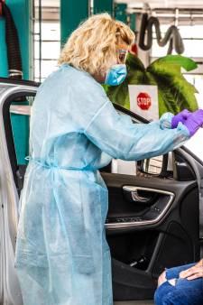 Vroegere milieustraat in Zuidland wordt omgetoverd tot drive-thru voor gratis coronatesten