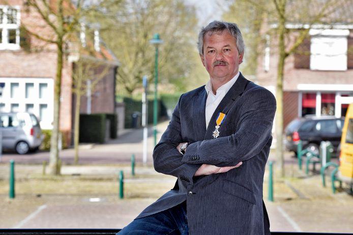 Alphenaar Gerrit de Wit kreeg in 2015 een lintje voor zijn baanbrekende werk voor klokkenluiders.