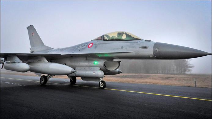 Een Deense F-16