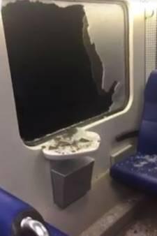 Ruit van trein springt tijdens rijden: 'Iedereen was in paniek'