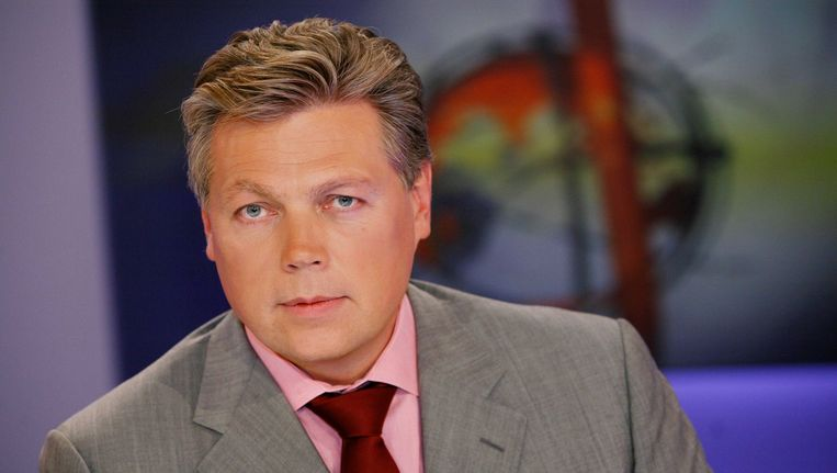 RTL-Nieuws-presentator Roelof Hemmen. Beeld null