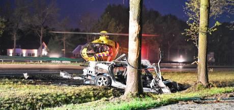 Automobilist die tegen boom reed langs A58 bij Hoeven en later overleed is 29-jarige man uit Breda