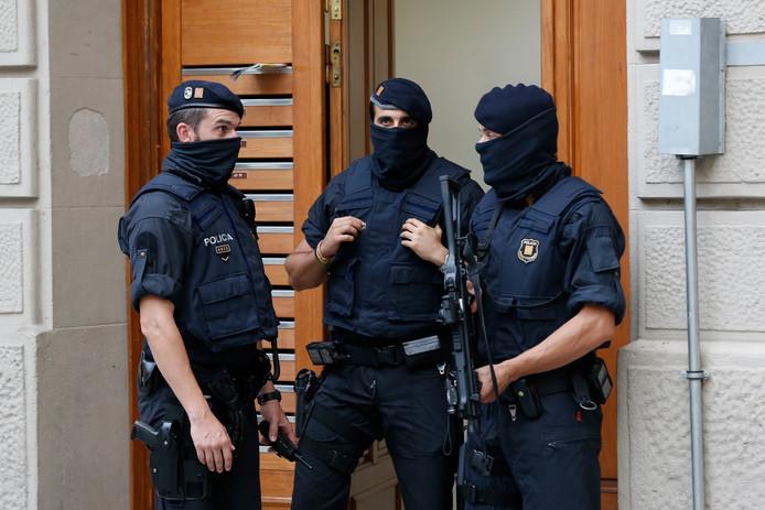 Catalaanse politie in Ripoll